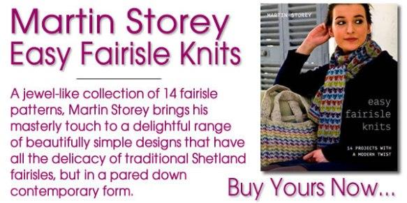 Easy Fairisle Knits by Martin Storey